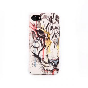 Coque rigide tête de lion graphique iPhone 7 / iPhone 8