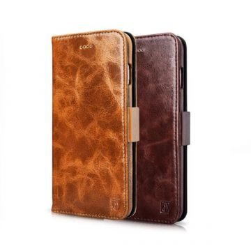 Leather wallet case iPhone 7 / iPhone 8