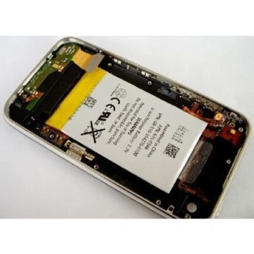 Complete quality back casing with battery iPhone 3G / 3GS  White neutral