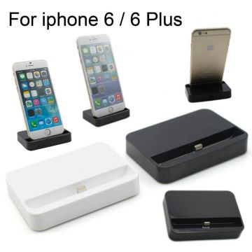 Docking station iPhone 5/5S/5C, 6/6S en 6 Plus/6S Plus