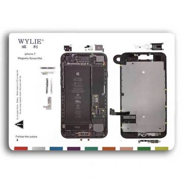 magnetic Screw Hole Distribution Board iPhone 7