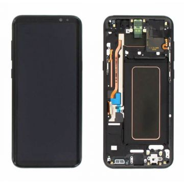 Original quality complete screen for Samsung Galaxy S8 Plus in black