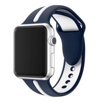 Silicone strap Sport Band Apple Watch 42mm Blue