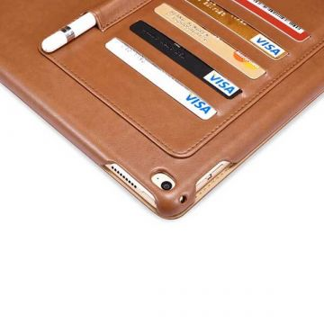 Etui Business en cuir blanc multi-cartes Icarer