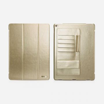 "Leather Case Business gold multi-cards for iPad Pro Icarer 12,9"" (2015)"