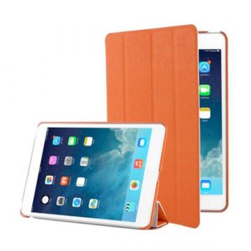 Leather Smart Cover iPad 2 3 4 Brown
