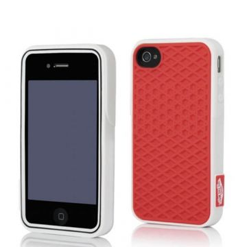 Cover Case Vans Red and White for iPhone 4 and 4S