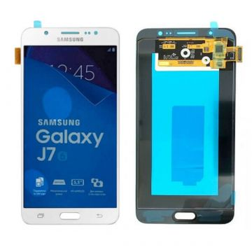 Original Complete screen Samsung J7 (2016) SM-J710 white