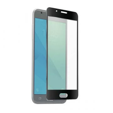 Tempered glass screenprotector zwart Samsung Galaxy J7 (2017)