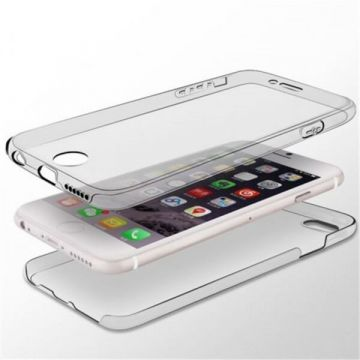 Coque souple 360° transparente iPhone X