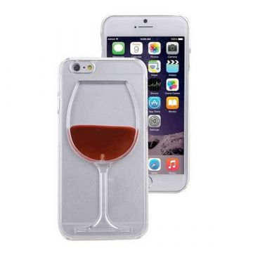 TPU Wine Glass for iPhone 7 / iPhone 8 Case