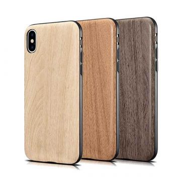 Case TPU imitation wood for iPhone X Xs