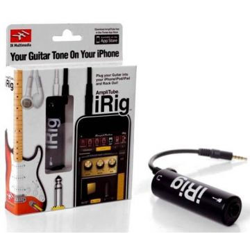 amplitube adaptateur iphone ipad ipod