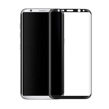Film de protection verre trempé 3D noir Samsung Galaxy S8 Hoco