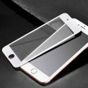 Tempered glass screen protector 3D for iPhone 7 / iPhone 8 Outline black or white
