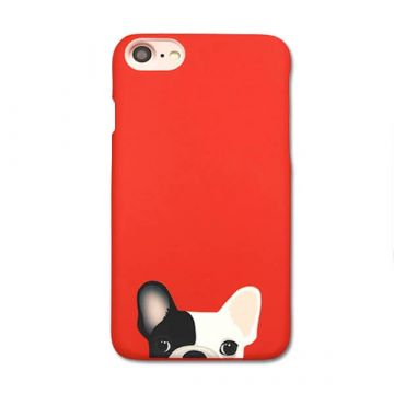 Hard case Soft Touch French Bulldog iPhone 7 / iPhone 8