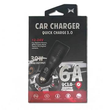 Double geolocalisable car charger