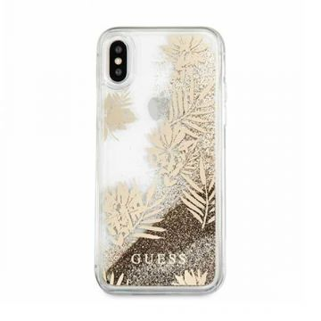 Liquid Glitter Case Palm Spring Gold Guess iPhone 6 / iPhone 6S / iPhone 7 / iPhone 8