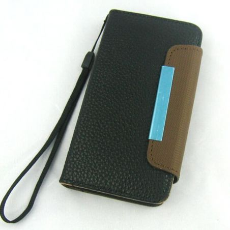 Case Cover PU Leather and Card Holder for iPhone 5