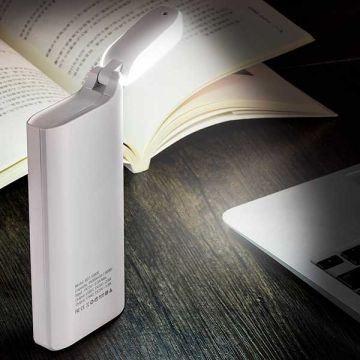 15000 mAh External Battery Power Bank with bedside lamp