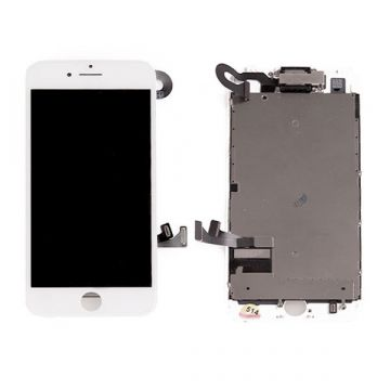 Complete touchscreen and LCD Retina screen for iPhone 7 white original Quality