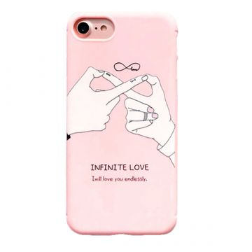 "Coque TPU ""Infinite Love"" iPhone 8 / iPhone 7"
