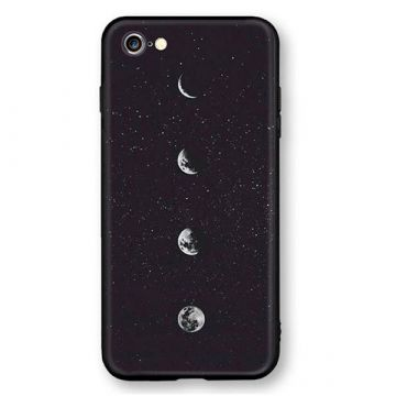 Soft Touch Moon Tasche iPhone 8 Plus / 7 Plus