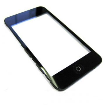 Complete mounted frame and glass with home button iPod 3G