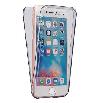 360° Clear Smoked Supple Supple Case iPhone 8 / 7