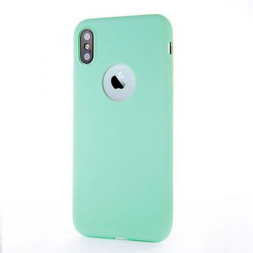Silicone Case for iPhone X - Turquoise