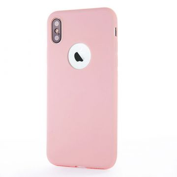 Silicone Case for iPhone X - Light Pink