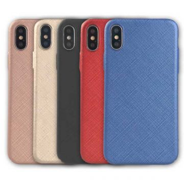Hard case textured iPhone X