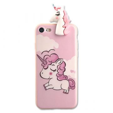 TPU Licorne 3D Case iPhone 8 Plus / iPhone 7 Plus
