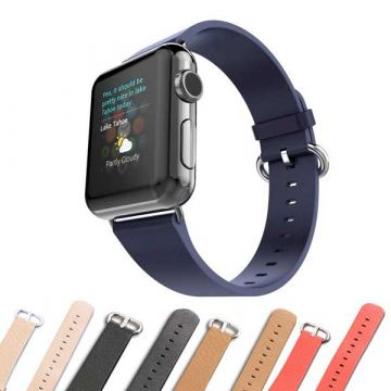 iCarer leather strap for Apple Watch 44mm & 42mm