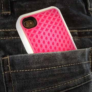 Cover Case Vans Pink and White for iPhone 4 and 4S