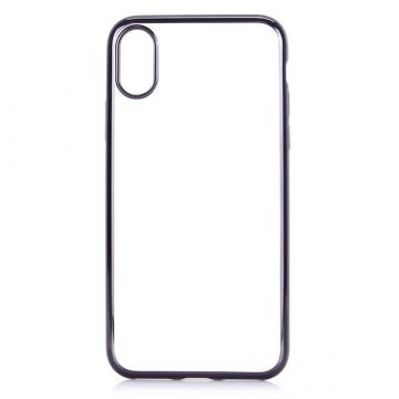 Coque TPU transparente bords noirs iPhone 7 / iPhone 8