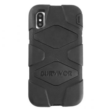 Coque Indestructible noire iPhone X