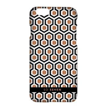 So Seven Midnight Hexagonal coque iPhone 8 / 7