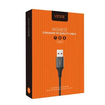 Vidvie Ultra Strong Nylon USB Blitzkabel