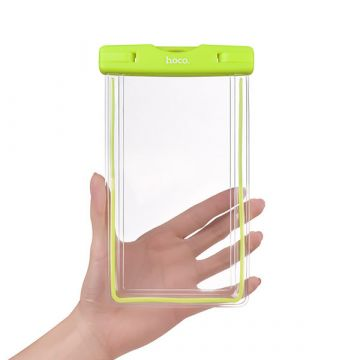 Waterproof fluorescent smartphone case