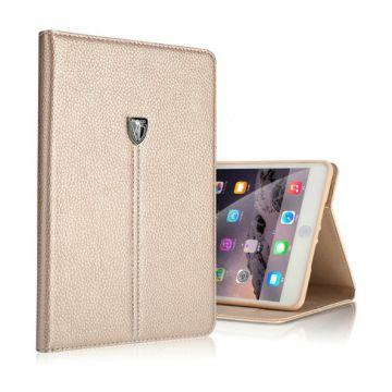 Leather look iPad Air 2 XUNDD portfolio stand case