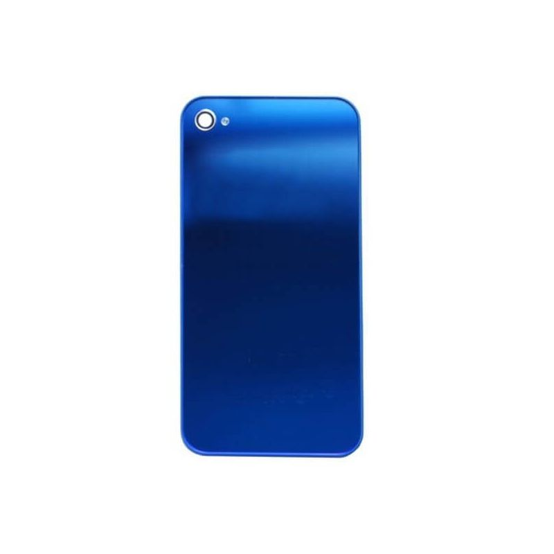 Replacement back cover iPhone 4S Mirror Blue