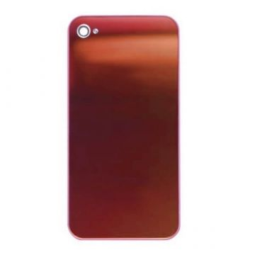 Replacement back cover iPhone 4 Mirror Red