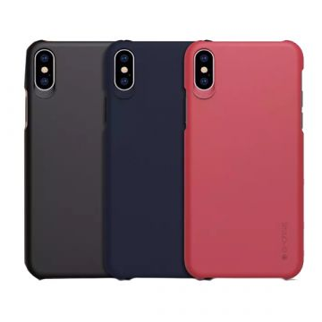 Coque rigide Soft Touch Juan Series pour iPhone XS Max G-Case