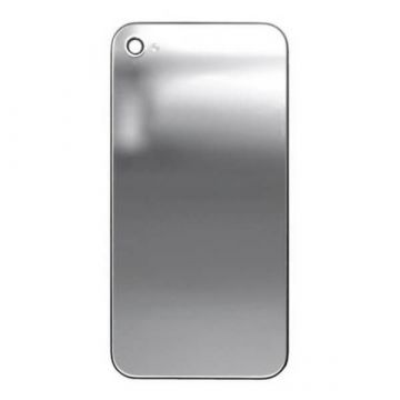 Replacement back cover iPhone 4S Mirror Silver