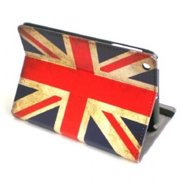 Stand case Vintage UK Flag iPad Mini