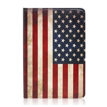 Stand case Vintage American Flag iPad 2 & 3
