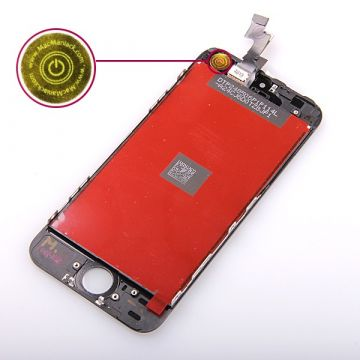 2nd Quality Glass digitizer and LCD Retina Screen for iPhone SE Black
