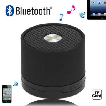 Kleine Luidspreker Bluetooth Stereo Zwart iPhone, iPad en iPod