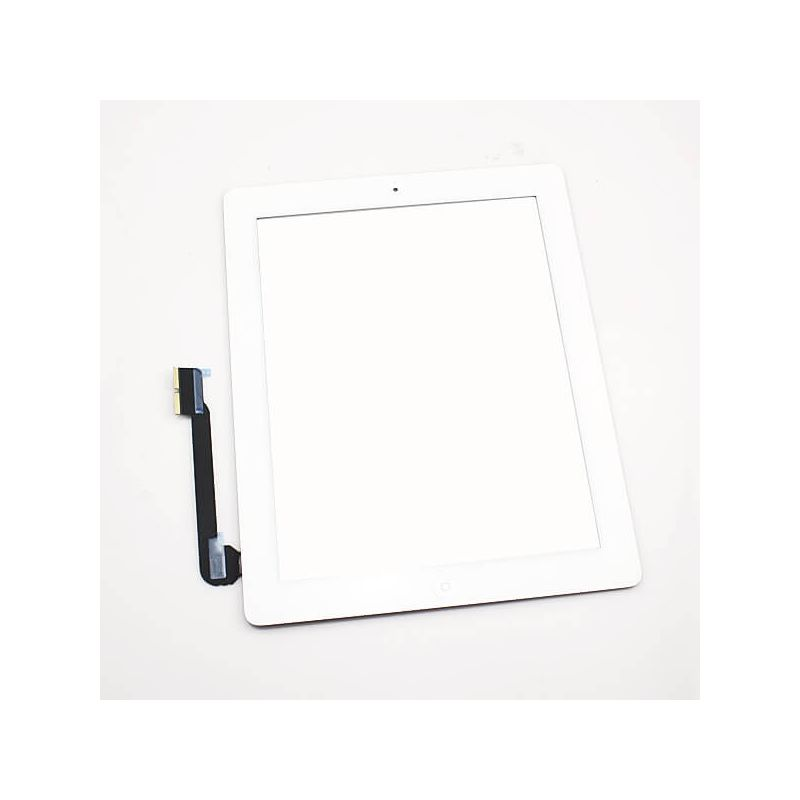 Touch Screen Glass/Digitizer Assembled For iPad 3 White